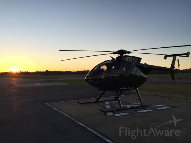 MD Helicopters MD 500 (N741SF)