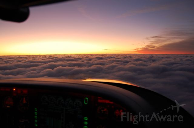 Cirrus SR-20 (N44YP) - Inflight on the way to Newark.