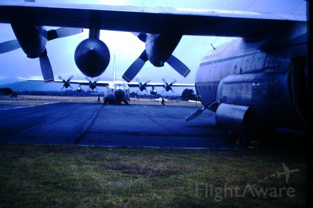Lockheed C-130 Hercules (A97071) - Two RAAF C130E