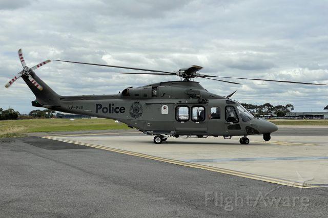 BELL-AGUSTA AB-139 (VH-PVR) - Leonardo A139 arriving at Essendon Airport