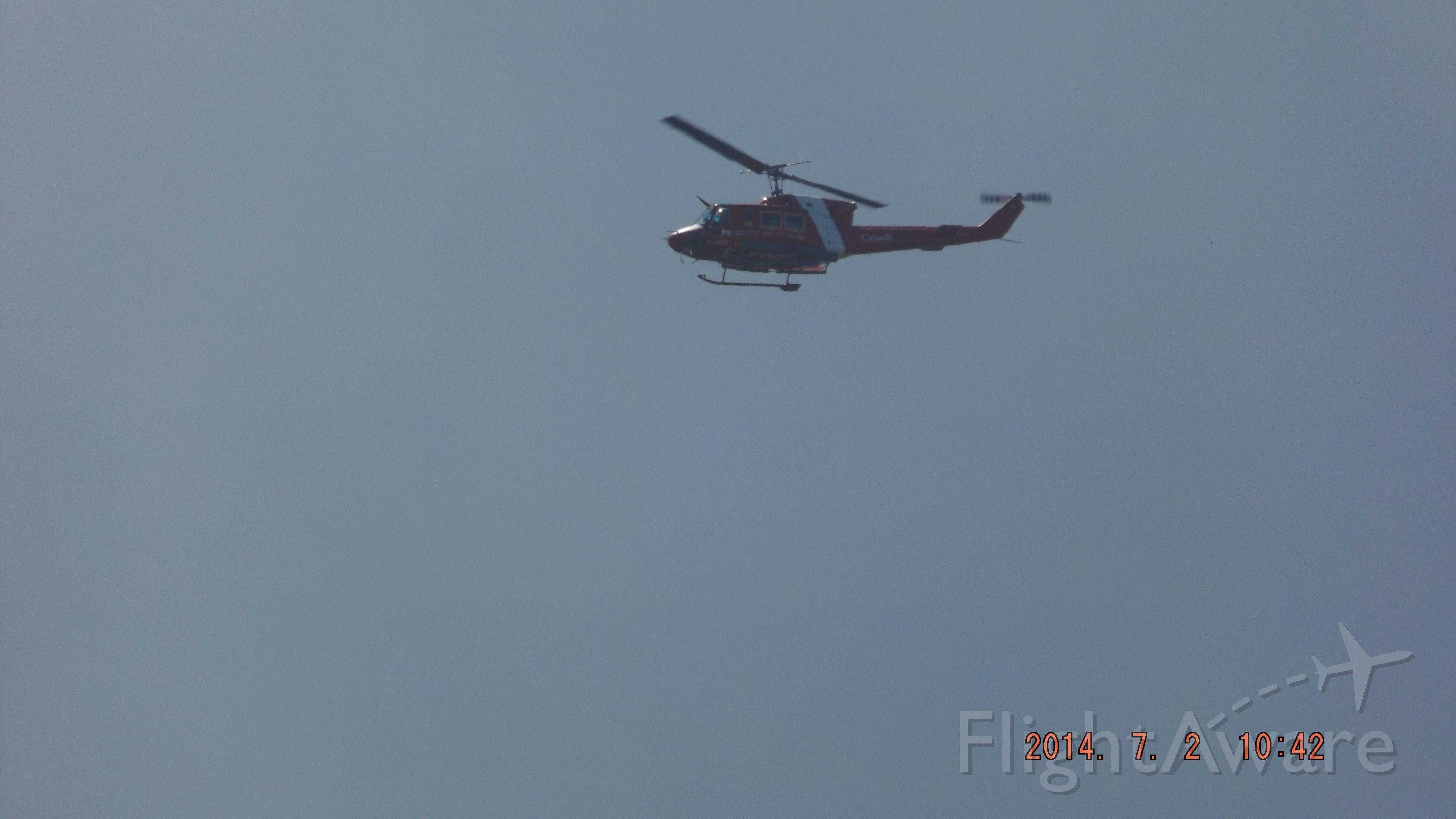 C-FDOF — - Bell 212 Garde Cotiere a Matane.Qc.