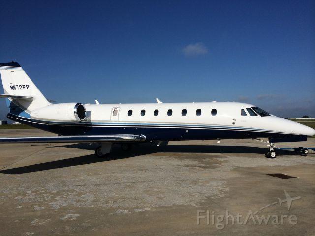 Cessna Citation Sovereign (N672PP)