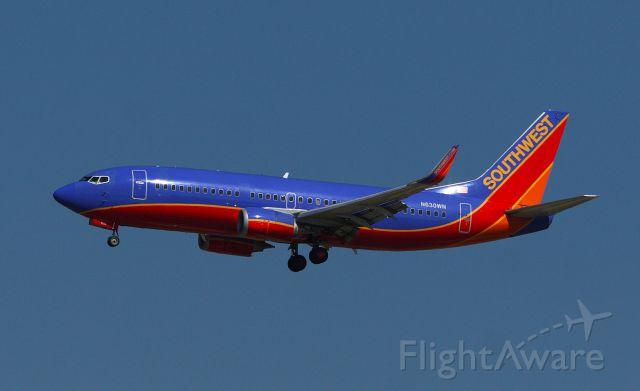 BOEING 737-300 (N630WN) - SWA818 arriving at KJAN from KHOU.