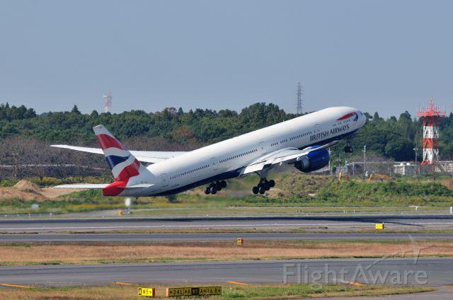 BOEING 777-300 (G-STBA) - 2011/10/29