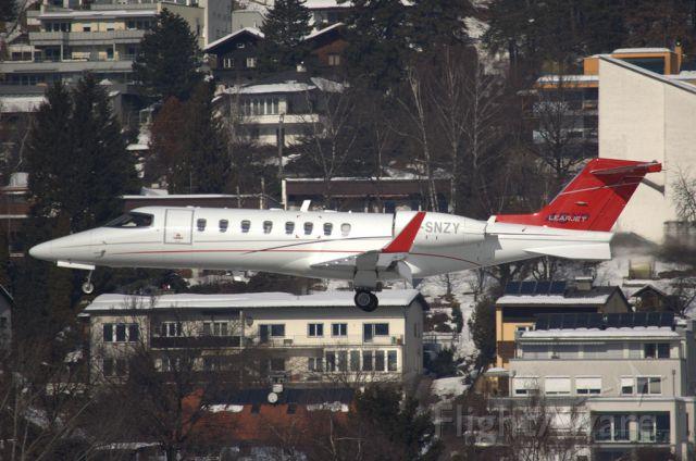 Learjet 45 (G-SNZY)