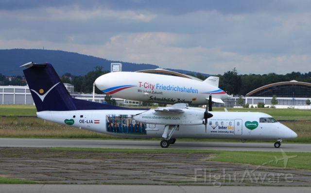 de Havilland Dash 8-300 (OE-LIA) - Die Steiermark Sonderlackierung der Intersky.