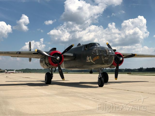 North American TB-25 Mitchell — - B-25. At Springfield, IL. 2018. Army Air Corps,. A part of history.
