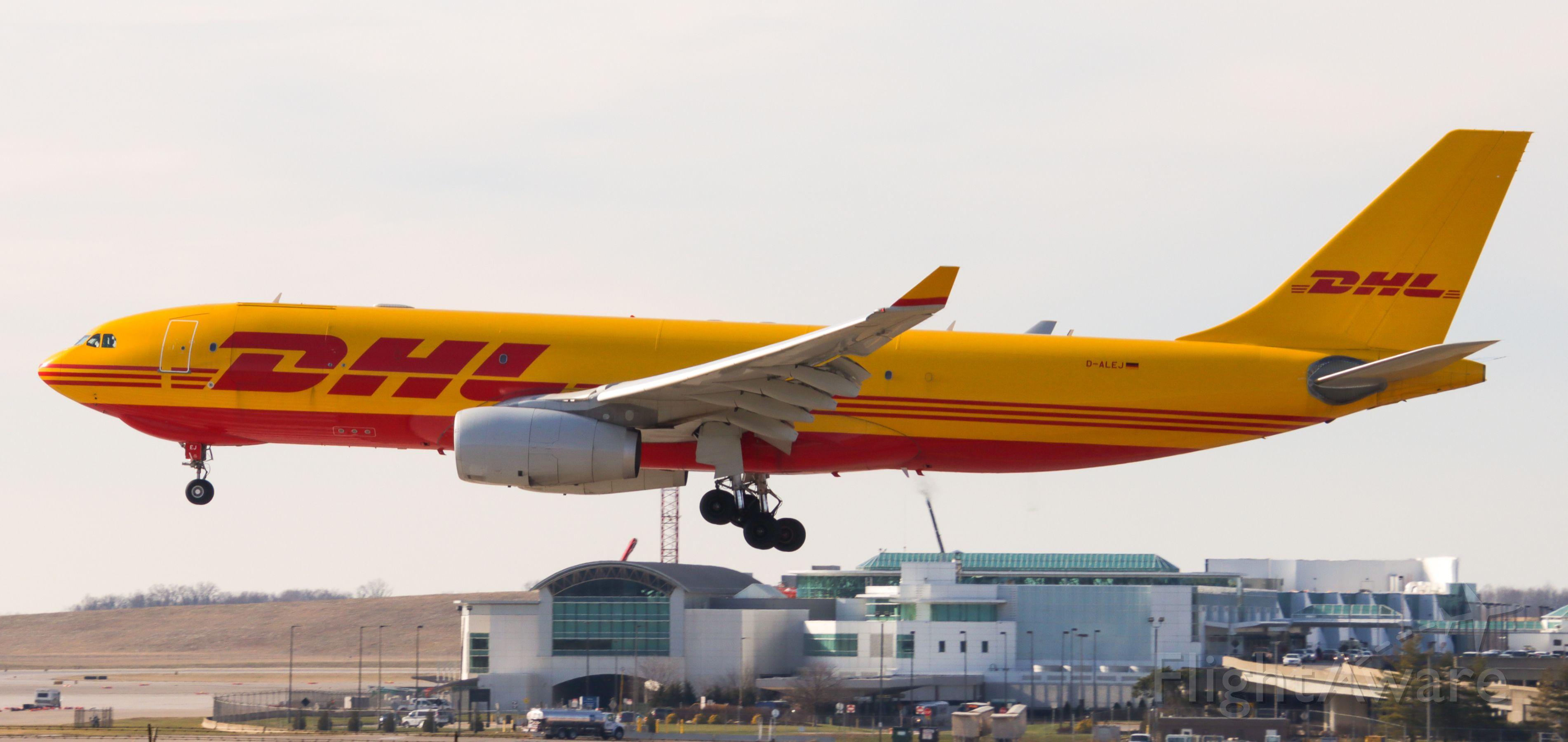 Airbus A330-200 (D-ALEJ)