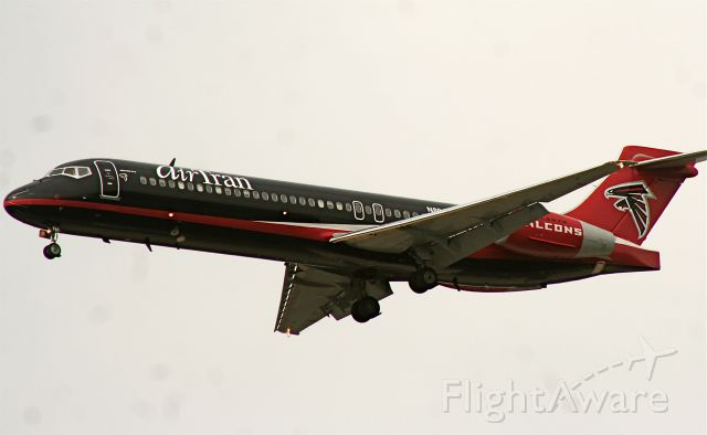 N891AT — - flying the colors of the Home team.. Atlanta Falcons..
