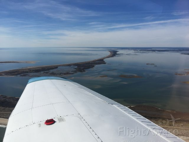 Piper Cherokee (N9115Q) - Cape Lookout National Seashore, NC
