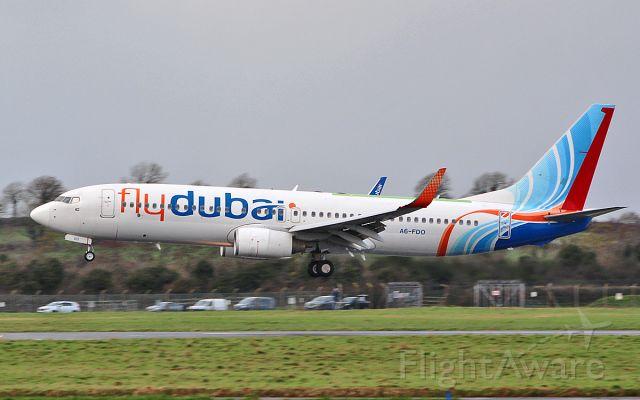 Boeing 737-800 (A6-FDO) - fly dubai b737-8kn a6-fdo returning to shannon after a test flight 22/1/19.