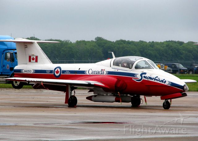 11-4050 — - The Snowbirds CT-114 Tutor at Barksdale Air Force Base.