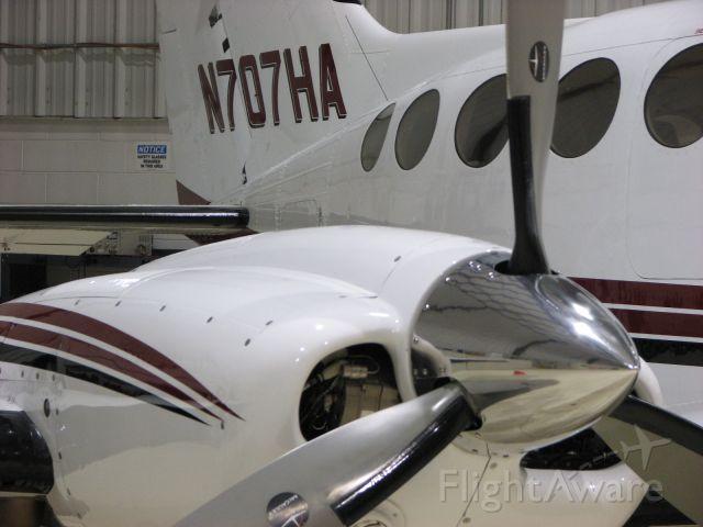Cessna 421 (N707HA)