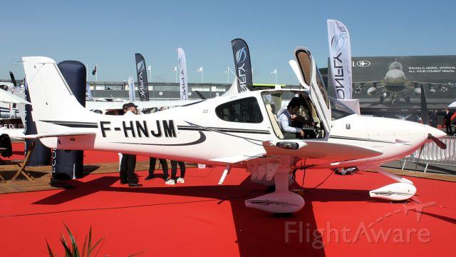 Cirrus SR-22 (F-HNJM) - Cirrus SR22