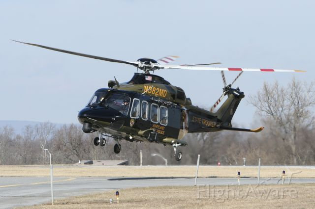 BELL-AGUSTA AB-139 (N382MD) - January 21, 2021 - arrived Frederick from Baltimore