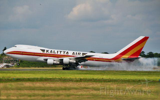 N795CK — - kalitta air 747-200 n795ck landing at shannon 29/6/14.