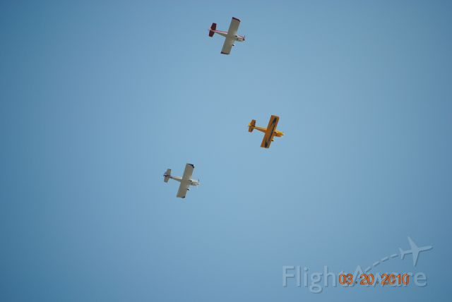 AII AVA-202 (N515DB) - 3 RV-6 flying in formation.