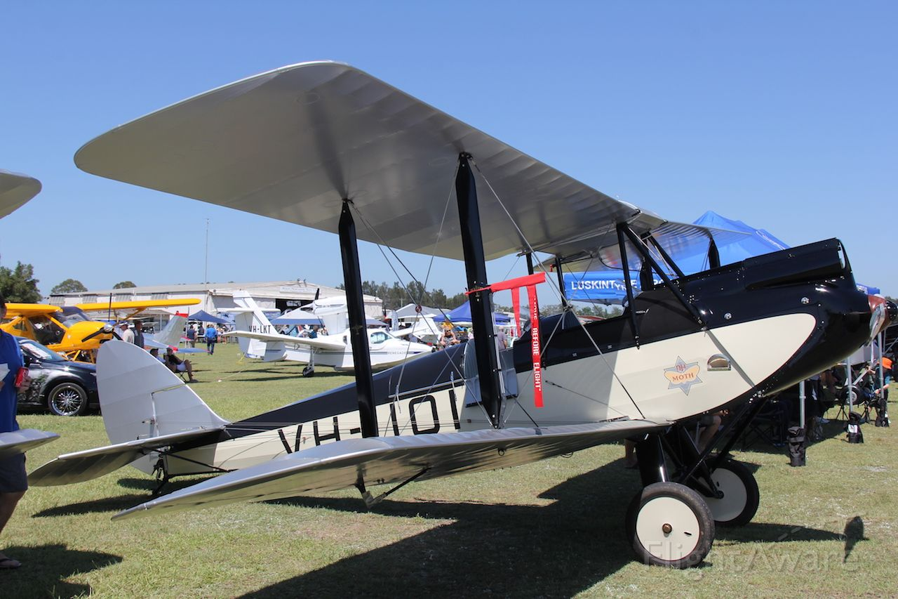 De Havilland Moth Major (VH-UOI) - de Havilland DH-60M Mothbr /Manufactured in 1929, UKbr /Photo: 28.01.2017