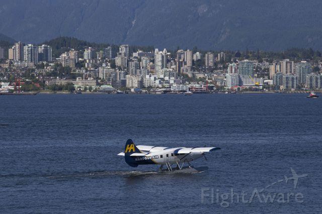 De Havilland Canada Twin Otter (C-FGQH) - Taken in the Vancouver, BC Harbor