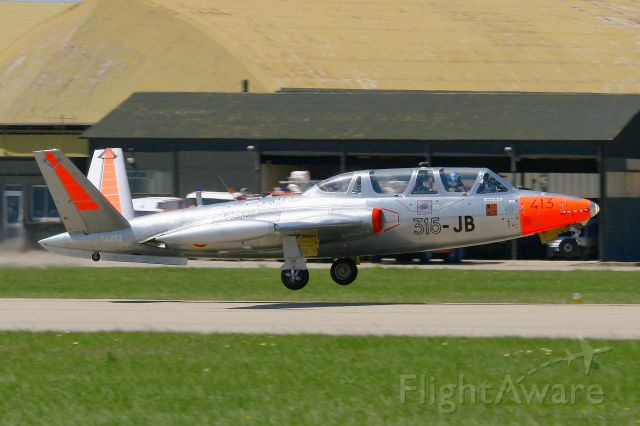 F-AZPZ — - Fouga CM-170 Magister (cn 413), Salon de Provence Air Base 701 (LFMY)