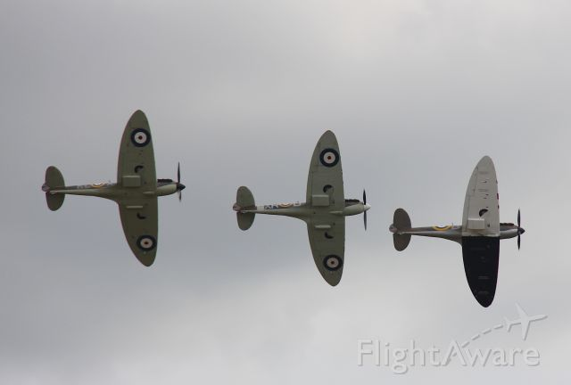 SUPERMARINE Spitfire — - Supermarine Spitfire Mk I.<br />Duxford, Cambridge, UK<br />Flying Legends 2015<br />Photo: 11.07.2015