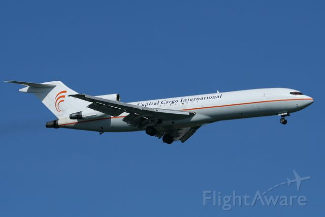 N708AA — - Cappy 727 on short final to runway 4R. Photo taken on May 13, 2011