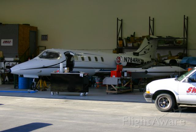 Learjet 25 (N764RH) - Taken at Torrance Airport, Ca while getting some maintenance done at Southwest Aircraft Services.