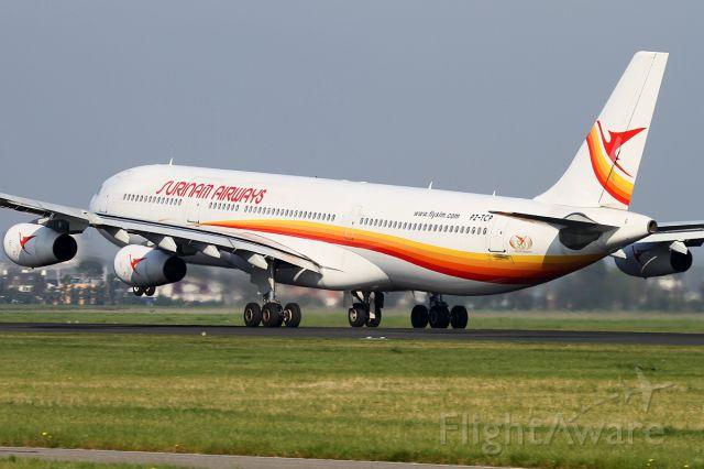Airbus A340-300 (PZ-TCP)