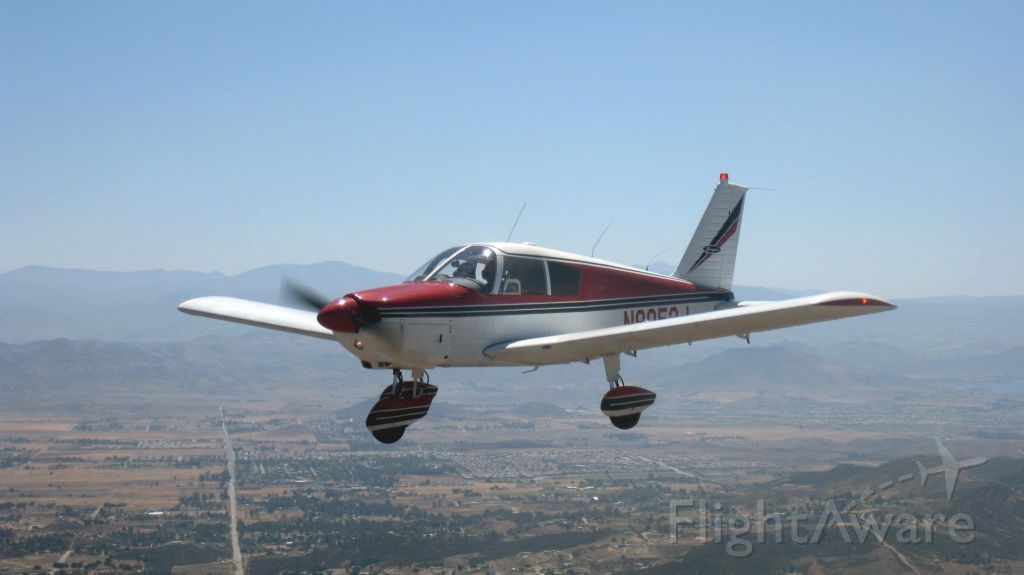 Piper Cherokee (N9053J) - Over the wine country...Yolanda at the controls