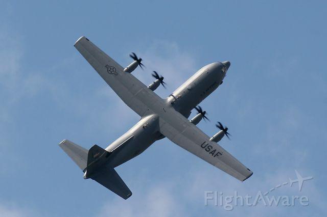 Lockheed C-130 Hercules (Lockheed C-130 J) - USAF Lockheed C-130J, Paris Le Bourget Air Show  2009