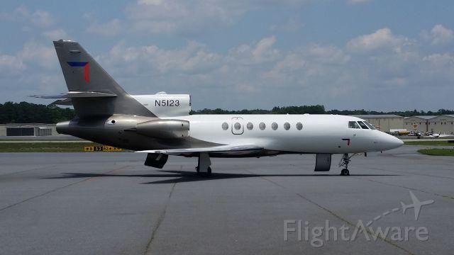 Dassault Falcon 50 (N5123) - N5123