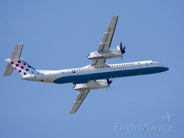 de Havilland Dash 8-400 (9A-CQC) - Departure runway 29.