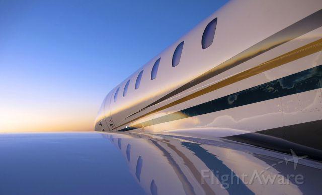 Cessna Citation X — - Early morning sunrise in Vegas