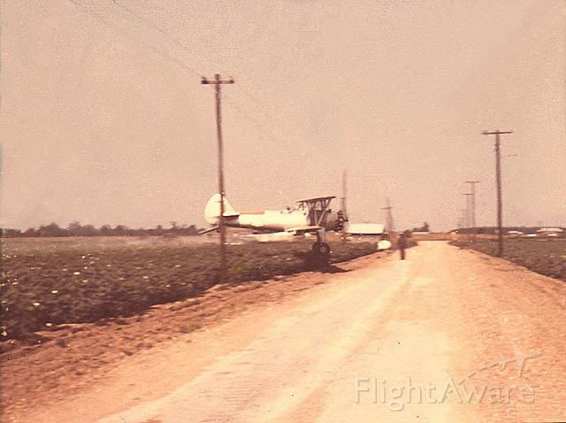 UNKNOWN — - Says it all. Dragging it through the cotten.Taken around the early 50s in Thibodeaux,Louisiana by Bill Binnings of a Delta Duster. Pilot Jim St. Julien