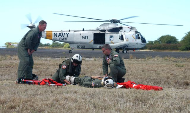 15-2700 — - Casualty treatment and medevac drill at Barking Sands PRMF HI 5-11-2005.