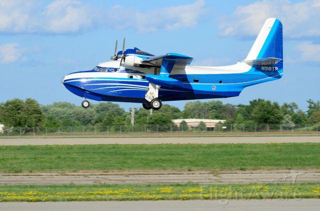 Grumman HU-16 Albatross (N98TP) - Departing Oshkosh