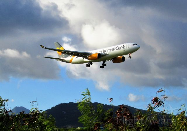 Airbus A330-200 (G-MDBD)