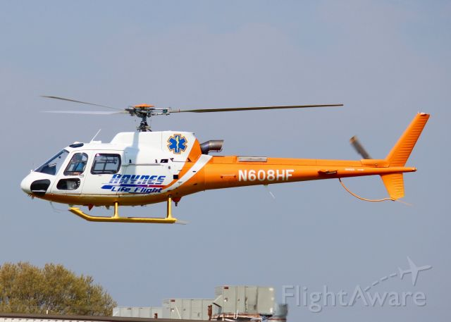 Eurocopter AS-350 AStar (N608HF) - At Metro Aviation. 1999 Eurocopter AS 350 B3