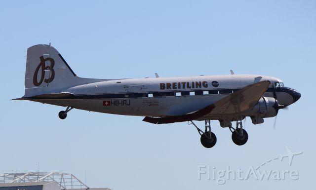 Douglas DC-3 (HB-IRJ)