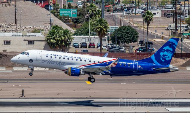 EMBRAER 175 (long wing) (N651QX) - Spotted at KPHX on May-5-2020