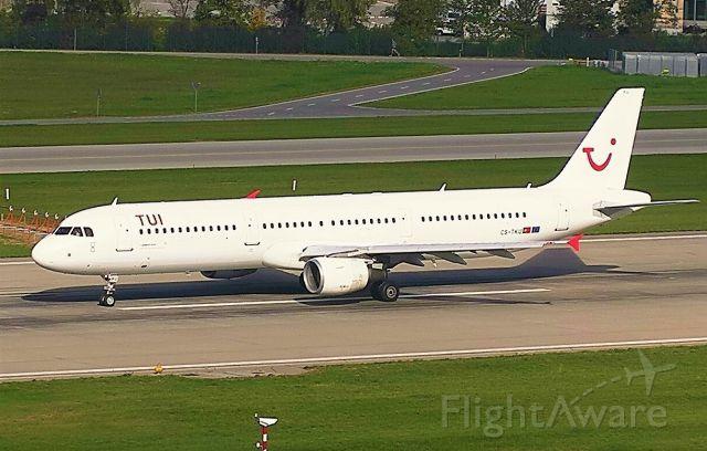 Airbus A321 (CS-TKU)