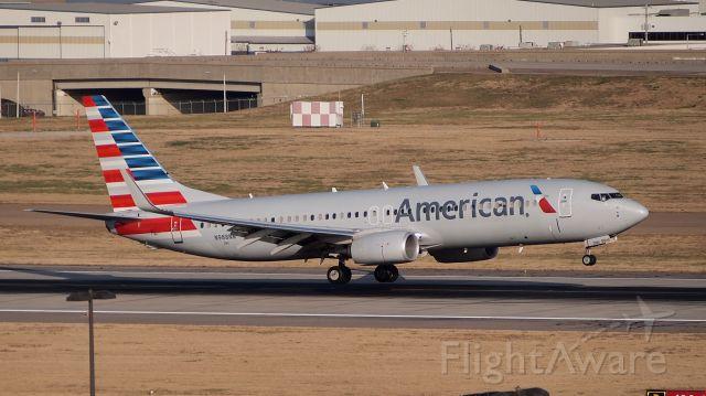 Boeing 737-800 (N988NN) - Touchdown on 18C