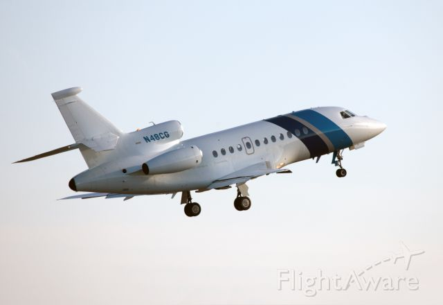Dassault Falcon 2000 (N48CG) - No location as per request of the aircraft owner.