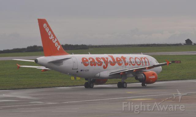 Airbus A319 (G-EZIO) - Easyjet Airbus A319-111 G-EZIO in Bristol