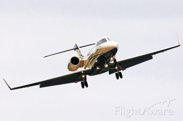 Learjet 45 (N145AR) - 2002 Learjet 45 landing Rwy 31 KHIO. 8-26-12