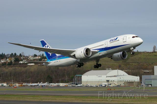 Boeing 787-8 (BOE2) - BOE002 Heavy Experimental seen departing KBFI on a certification test flight.