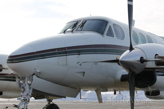 Beechcraft King Air 90 (N501MS) - Getting 180 gallons of Jet A