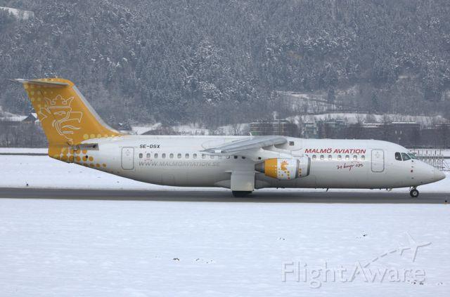 Avro RJ-100 Avroliner (SE-DSX)