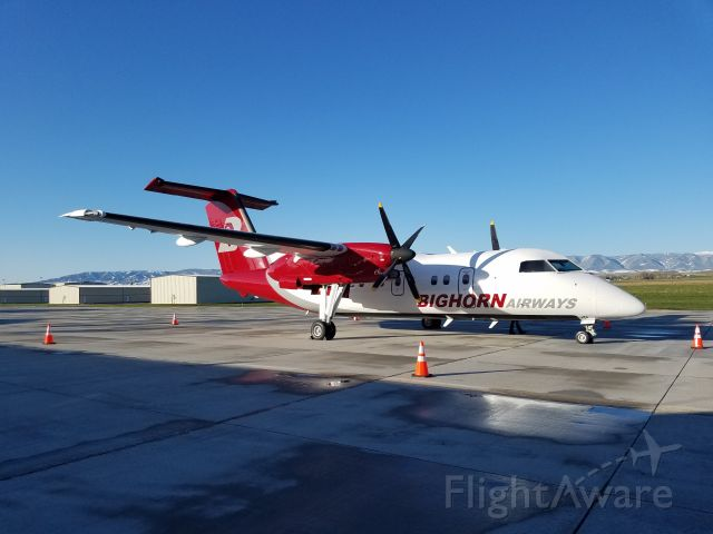 de Havilland Dash 8-100 (N990BH) - Our newly acquired airplane has arrived!!!
