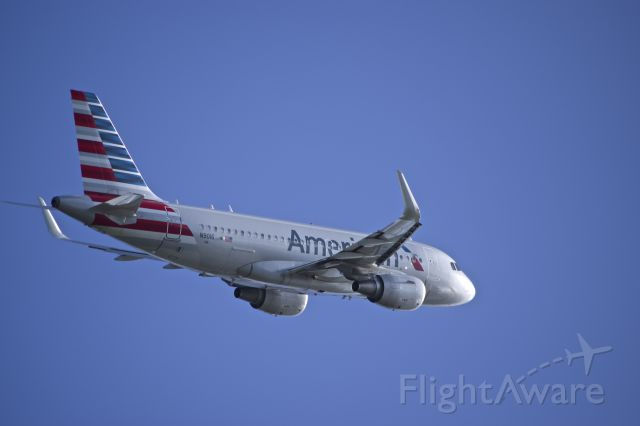 Airbus A319 (N9016) - Enroute to KMIA from TGPY